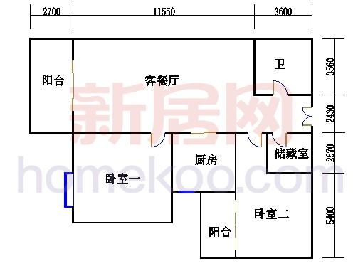3#楼3-22层02单元