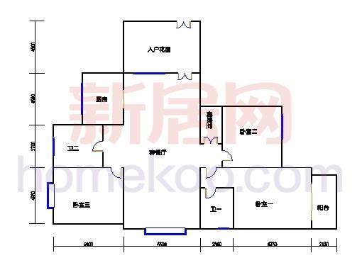 7#楼3-25层04单元