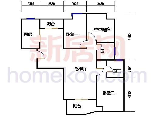逸景阁6号楼01室