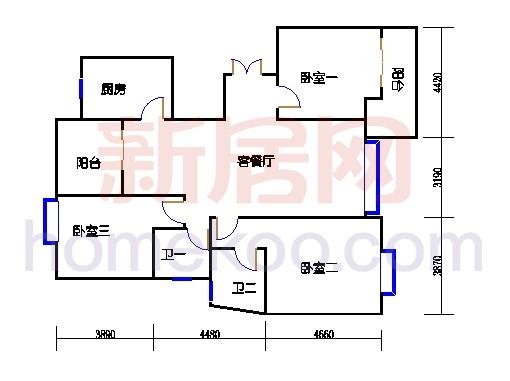 6#碧水轩6f2单位