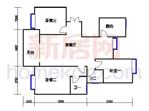 6#碧水轩6g1单位