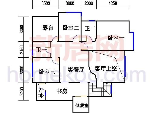 13号楼U1单元二层