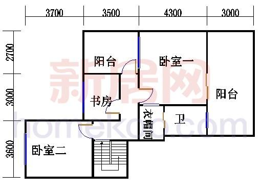 7号楼10层及跃层D单位上层