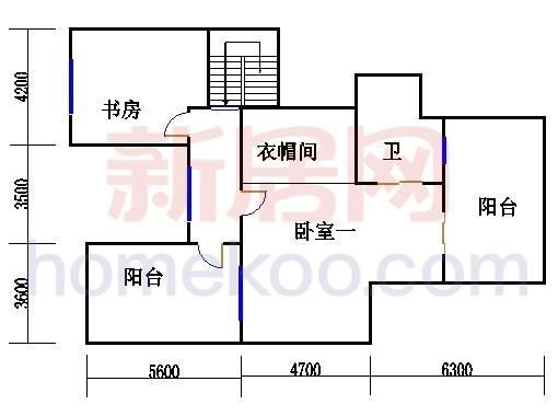 7号楼2单元11层及跃层G1单位上层