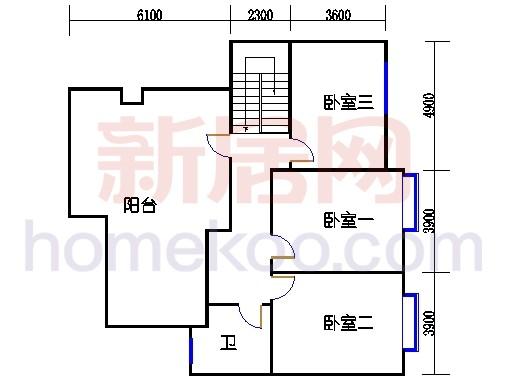 E型标准层复式(下)