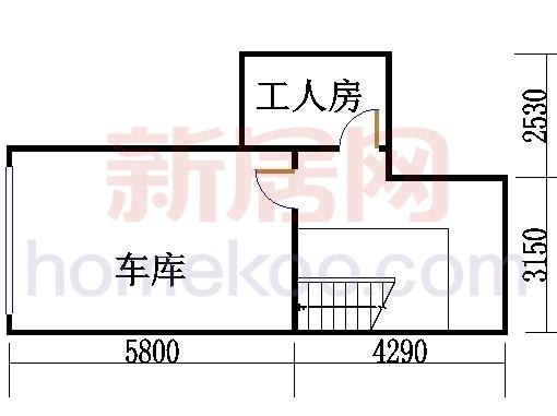 网球townhouse车库