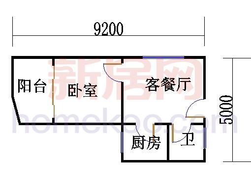 裕景2座4-23层K户型