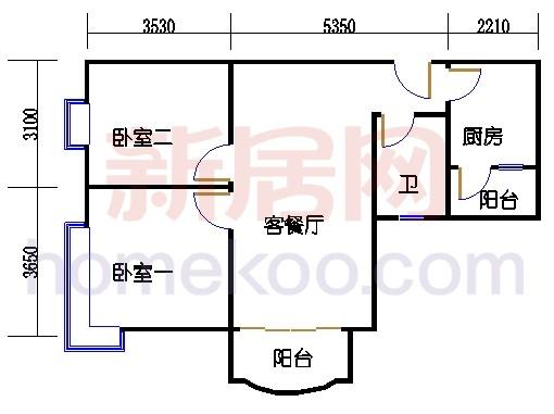 4栋6-18层03单位