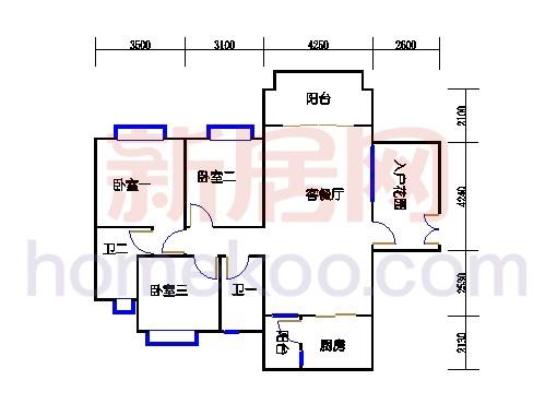B7栋4层03单元