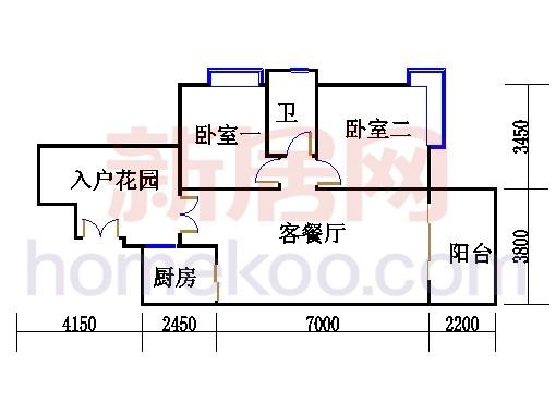 C9栋4层03单元