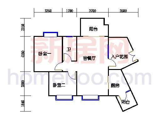 C10栋4层04单元
