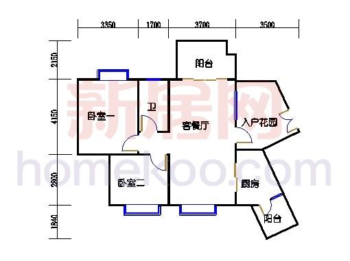 C10栋5-16层04单元