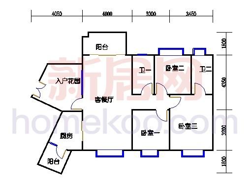 C12栋3层04单元
