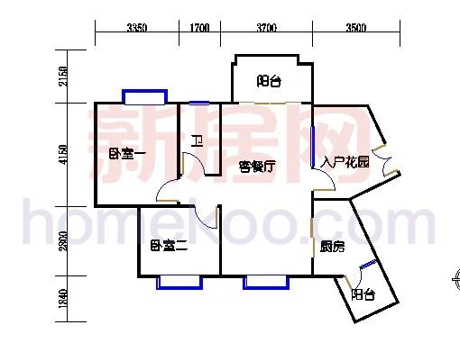 C12栋4层03单元