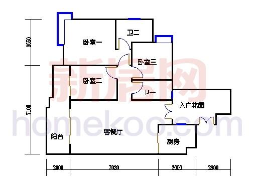 C12栋5-16层02单元