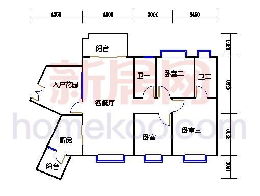 C12栋5-16层04单元
