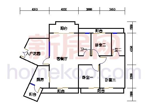 C12栋18层04单元