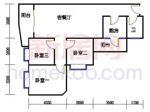 4栋32-33层07单位