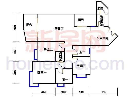 C5栋15-21,25-27层01单位