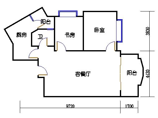 扩拼洋房五座八层07单元