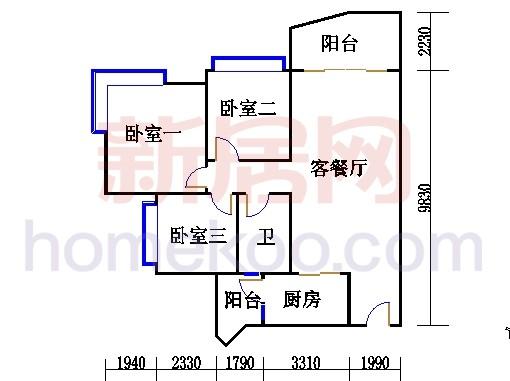 A4号楼三至十七层06单元