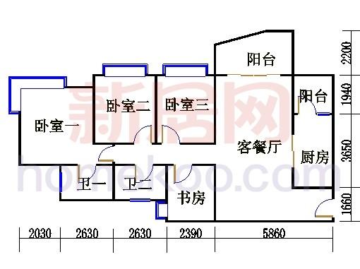 C3标准层06单元