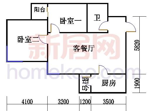 17、18号楼2-23层07单元