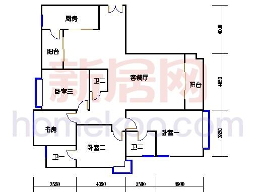 5#楼标准层C1单元