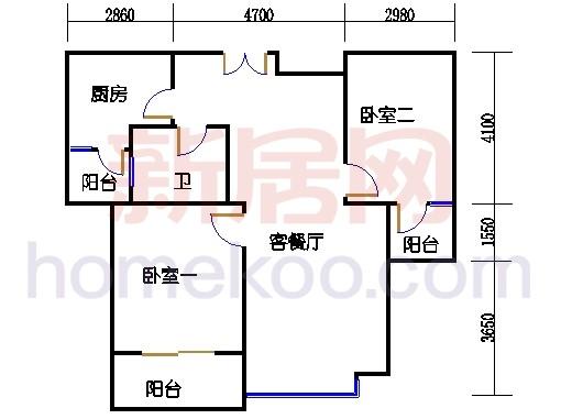 7#楼标准层A17单元