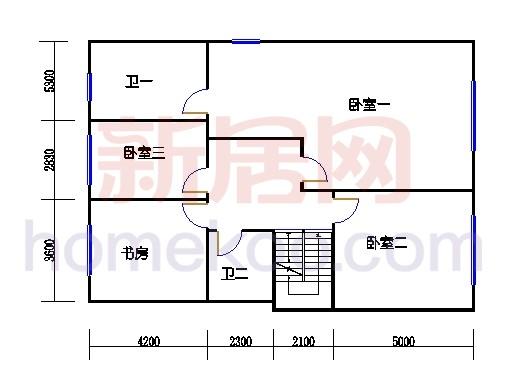 HA1单元(3-4层)上层