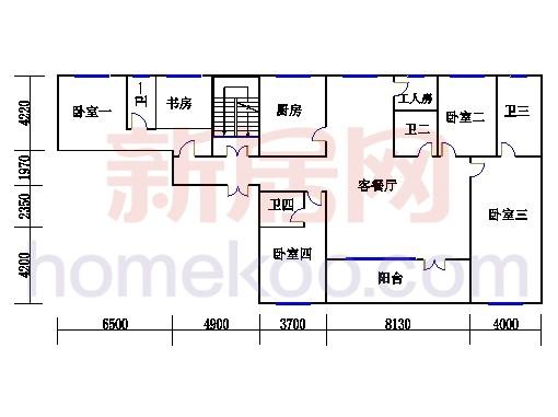 HC1单元(3层)