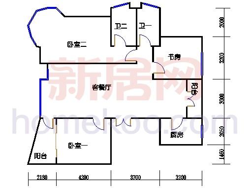 7#公寓标准西边套