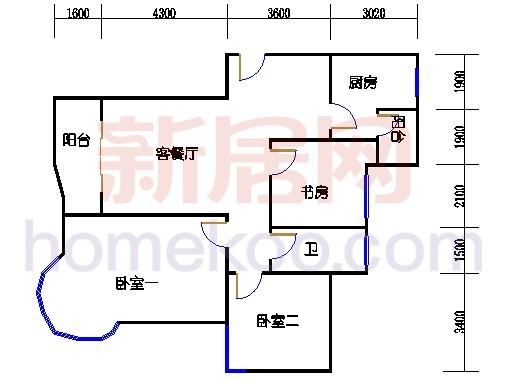 8#公寓标准东边套
