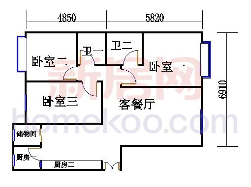 C(C反)单元标准层