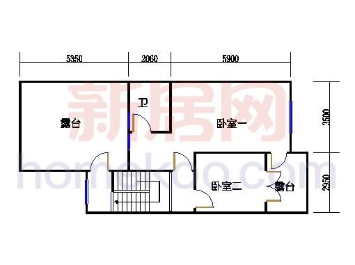 B6单元三层