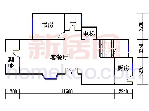 D1-2单元二层