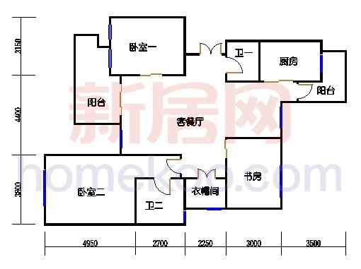紫荆苑A单元