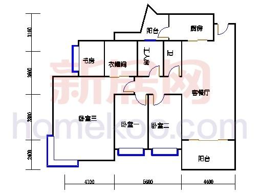3-22层10座3至21层11-13座E2单位