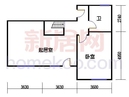 B4别墅型单元下层