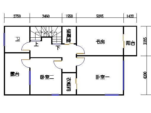 A单元二层
