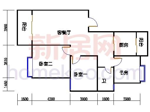 2-9层C单元
