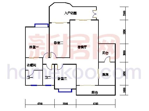 J栋标准层01单元(L栋标准层03单元)