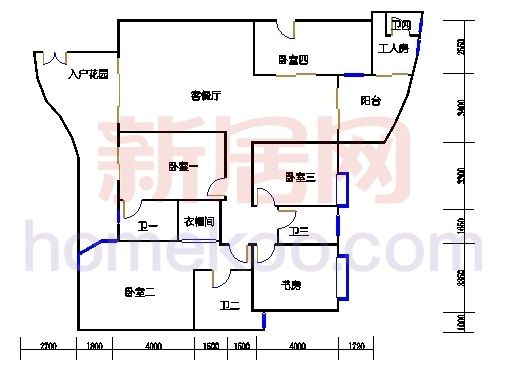 B2栋2-28层01单元