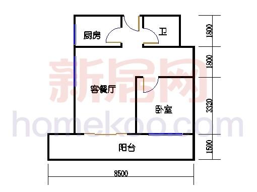 7号楼LOFT公寓B单元