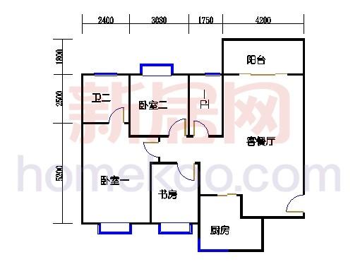 6#楼鸿禧天寓单元