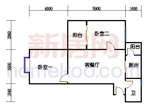 C栋2-12层06单位