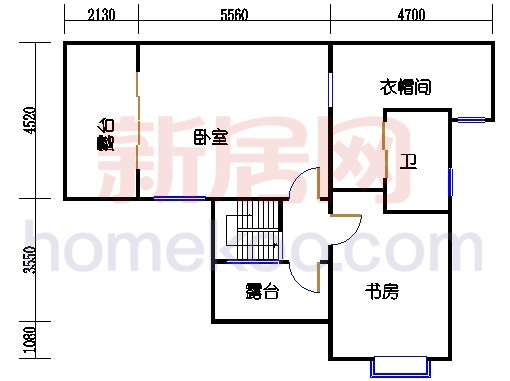 D3顶层单元二层