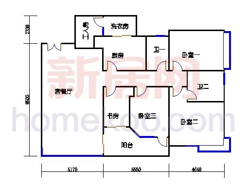 E2、12栋9-10层01单位