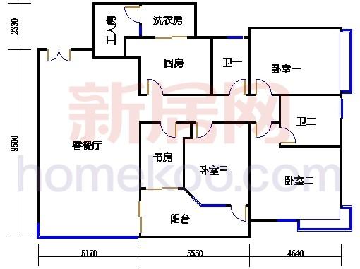 E2、12栋11-12层01单位