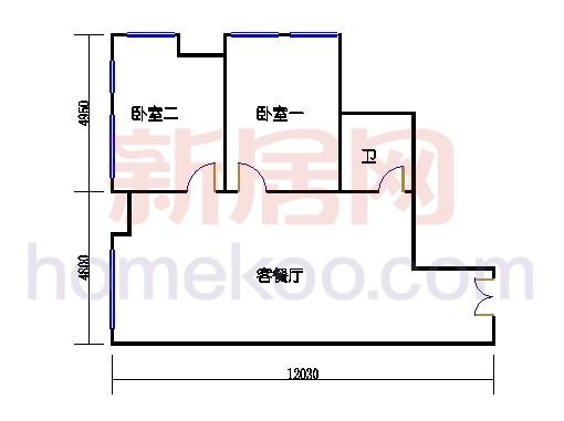 B栋四层11单元